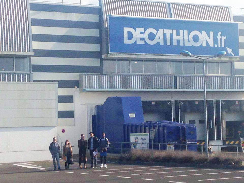 MFR de Châteaubriant - BTS - Visite entrepôt Décathlon