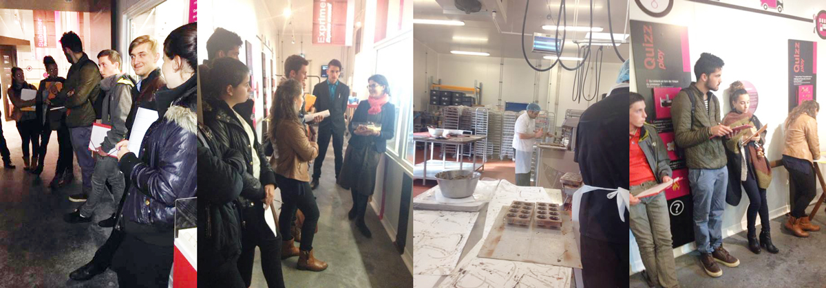 Visite Chocolaterie Guisabel MFR CHATEAUBRIANT
